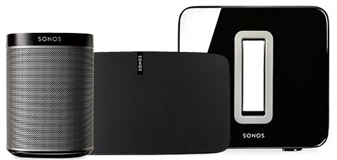Sistema de audio Sonos.